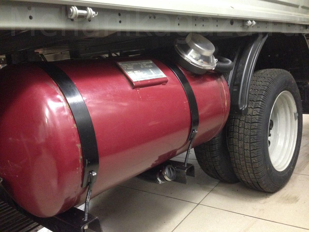 Установка газового оборудования на газель своими руками 26