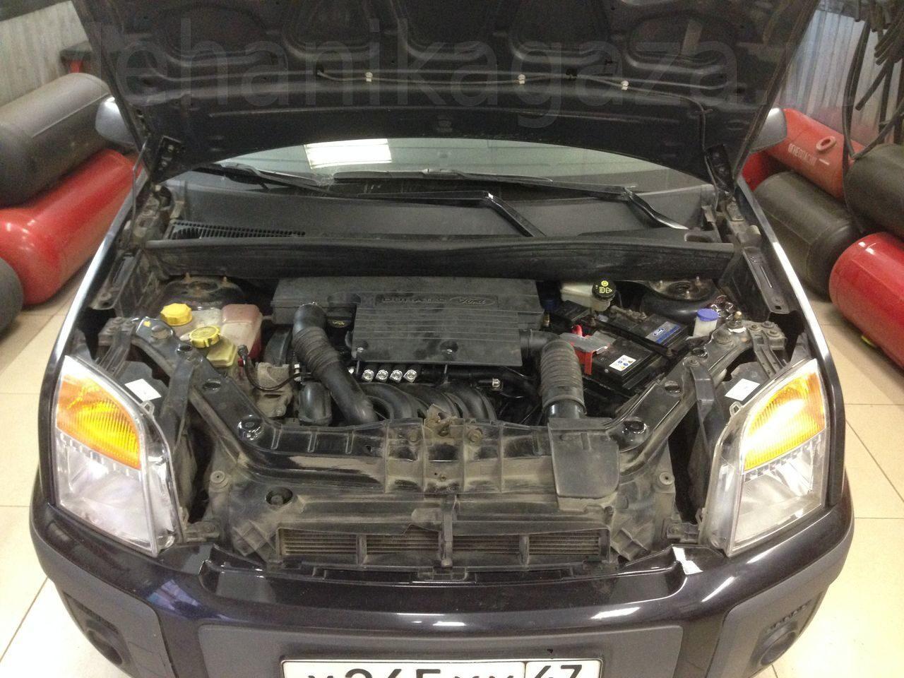 ford fusion фото моторного отсека